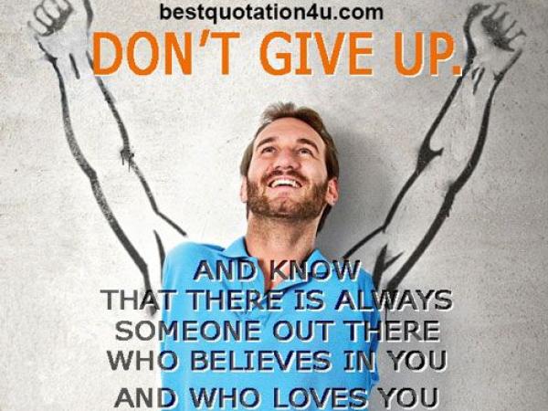 """Fel akar nézni valakire, aki """"lent"""" van? Nick Vujicic motivációs tréner (videó)"""