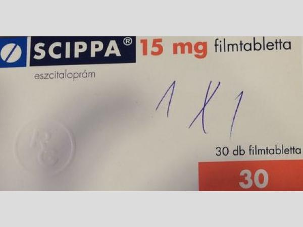 Scippa 15 mg: gyógyszer keveredés történt!?