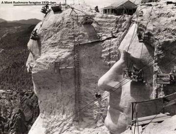 Halogatás - Mount Rushmore