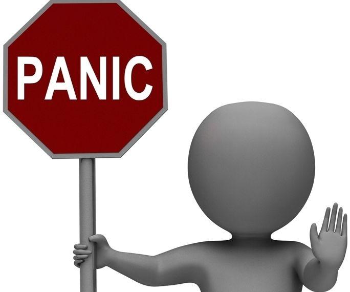 Panic-Stop tábla